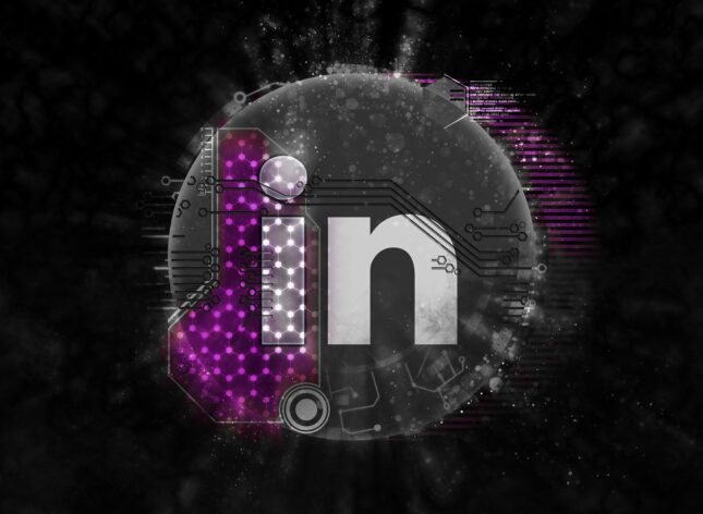 Image of LinkedIn icon to represent Paid Social services offered by Outsourced Engagement